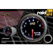 raid hp Night Flight Chrono Toerentalmeter m. Scan