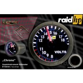 raid hp Night Flight Chrono Voltmeter