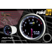 raid hp Night Flight Toerentalmeter