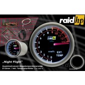 raid hp Night Flight Uitlaatgastemperatuurmeter