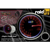 raid hp Night Flight Red Uitlaatgastemperatuurmeter