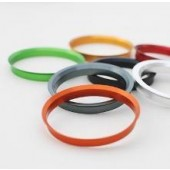 Centreer ring 73,1-66,5 alu 10mm